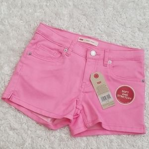 NWT Girl's Levi's Shorty Shorts